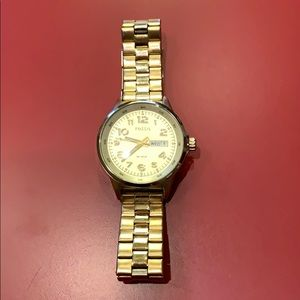 Fossil watch ladies stainless steel